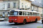 Škoda 9 Tr ev.č. 264 v dnešní Doudlevecké ulici. - 1984