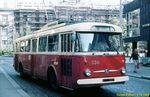 Škoda 9 Tr ev.č. 336 v dnešní Goethově ulici. - 11.9.1988