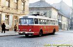 Škoda 9 Tr ev.č. 288 v dnešní Doudlevecké ulici  - 1984