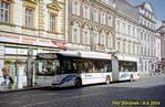 Škoda 25 Tr ev.č. 996 stanicuje v zastávce Mrakodrap. - 6.9.2004