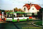 Škoda 14 Tr ev.č. 419 na smyčce Nová Hospoda. - 2004/2005
