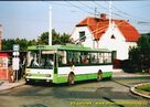 Škoda 14 Tr ev.č. 431 na smyčce Nová Hospoda. - 2004/2005