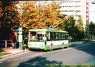 Škoda 14 Tr ev.č. 432 v zastávce Bory, Heyrovského. - 2004/2005