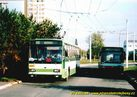 Škoda 14 TrM ev.č. 455 na smyčce Nová Hospoda - 2004/2005