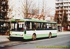 Škoda 14 Tr ev.č. 421 v zastávce Bory, Heyrovského. - 2004/2005
