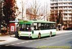 Škoda 14 Tr ev.č. 453 v zastávce Bory, Heyrovského. - 2004/2005