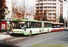 Škoda 15 Tr ev.č. 462 v zastávce Bory, Heyrovského. - 2004/2005