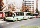 Škoda 15 Tr ev.č. 463 v zastávce Bory, Heyrovského. - 2004/2005