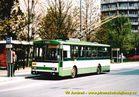 Škoda 14 Tr ev.č. 419 v zastávce Bory, Heyrovského. - 2004/2005