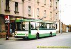 Škoda 14 Tr ev.č. 432 v zastávce Petřínská. - 2004/2005