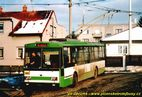 Škoda 14 Tr ev.č. 401 odpočívá na smyčce Černice. - 2004/2005