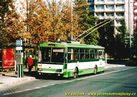 Škoda 14 Tr ev.č. 437 v zastávce Bory, Heyrovského  - 2004/2005