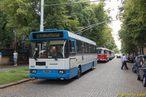 Škoda 17 Tr ev.č. 3901 na obratišti Sladkovského, Hospic. - 27.6.2009