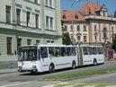 Škoda 15 Tr ev.č. 25 opouští zastávku U Soudu. -  16.7.2009