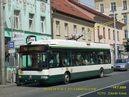 Škoda 24 Tr ev.č. 501 v zastávce U trati