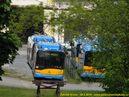 Pohled na Škody 26 Tr pro Sofii v areálu doudlevecké Škody Electric. - 26.5.2010