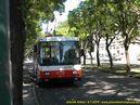 Škoda 14 Tr ev.č. 6275 odpočívá na obratiši Ružová dolina. - 8.7.2010
