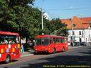 Škoda 14 Tr ev.č. 6284 v zastávce Kollárovo námestie. - 8.7.2010