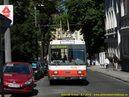Škoda 14 Tr ev.č. 6252 v ulici Palisády. - 8.7.2010