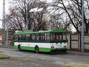 Škoda 14 TrM ev.č. 460 odpočívá na konečné Božkov. - 1.2.2013