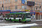 Škoda 14 TrM ev.č. 459 projíždí křižovatkou U Práce. - 24.2.2013
