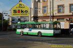 Škoda 14 TrM ev.č. 451 na Mikulášském náměstí. - 4.10.2013