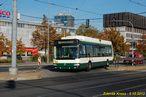 Linka 13 je nezvykle vedena Sirkovou a Šumavskou ulicí. Tuto trasu využívá i 24 Tr č. 502. - 5.10.2013