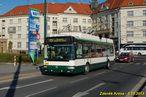 Škoda 24 Tr ev.č. 497 zachycena na lince 13 odkloněné kvůli Pilsner Festu do Šumavské ulice. - 5.10.2013
