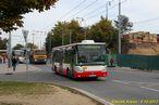 Irisbus Citelis ev.č. 528 vypravený jako náhrada za trolejbus na linku 11 vedenou kvůli Pilsner Festu odklonem Šumavskou ulicí. - 5.10.2013