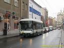 Vůz 507 zachycený v koloně v Prokopově ulici. - 11.10.2013