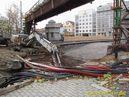 Probíhající rekonstrukce Wilsonova mostu. - 16.11.2013