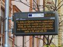 Inteligentní zastávka informuje o přesunu zastávky. - 5.5.2013