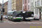 V Borské ulici se setkaly odkloněné vozy 483 a 527. - 11.9.2013