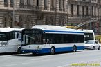 Škoda 26 Tr pro Varnu č. 8 projíždí na dieselagregát po Americké třídě. - 11.6.2014