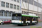 Škoda 26 Tr ev.č. 550 při testech nové výzbroje pro Škodu Electric zachycena v Tylově ulici. - 10.7.2014