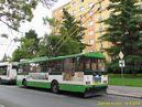 Škoda 14 TrM ev.č. 451 zachycena na konečné Na Dlouhých. - 18.8.2014