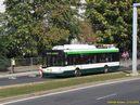 Vùz 551 na dieselagregát projíždí kolem uzavøené zastávky Prazdroj. - 3.10.2015
