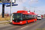Škoda 30 Tr pro Bratislavu č. 76 zatočila na Folmavskou třídu. - 7.4.2015