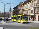 Astra č. 309 v zrekonstruované Pražské ulici. - 10.4.2015